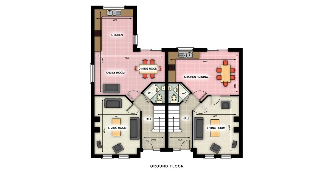 2D Floorplan 3d-plans image