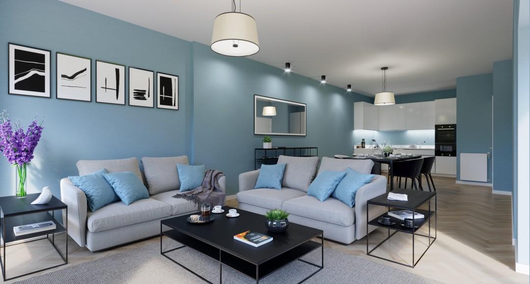 Apartment Interior 3d-visualisation image