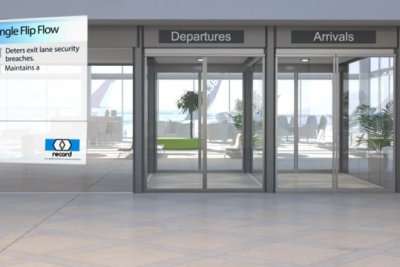 Automatic Door Product-Animation Product-Visualisationin