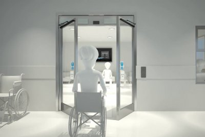 Automatic Doors Product-Animation Product-Visualisationin