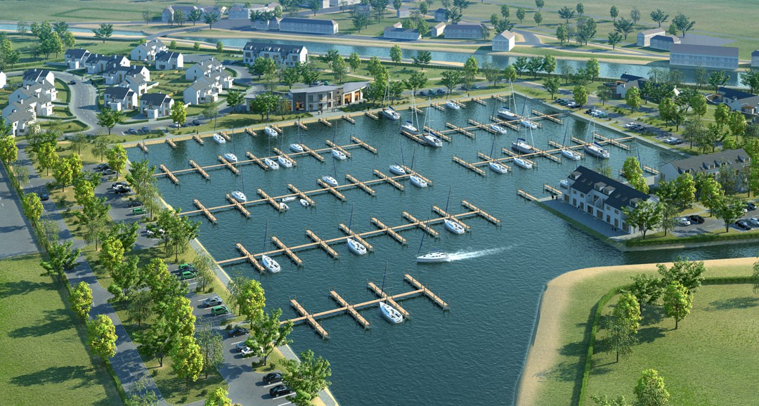 Boat Club Perspective 3d-plans image