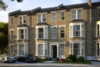 Brixton,London Residential 3D-Visualisationin