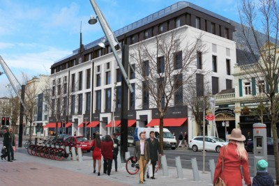 Capitol redevelopment Photomontage Planning-Visualsin