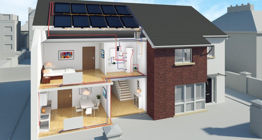 Dual panels 3d-plans image