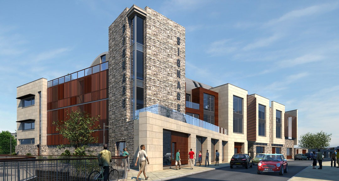 Galway Retail Outlet 3d-visualisation image