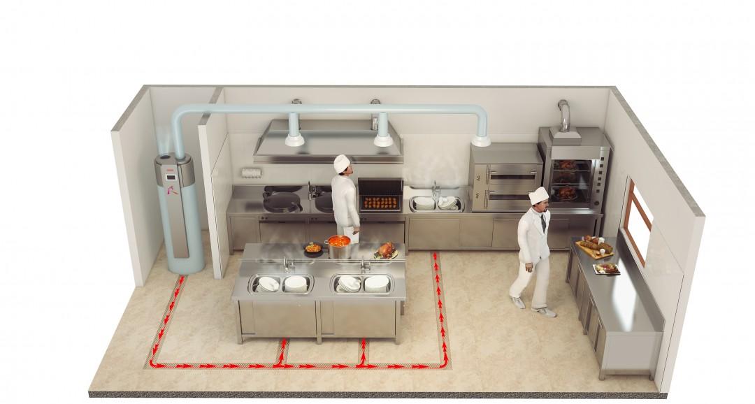Heat pump 3d-plans image