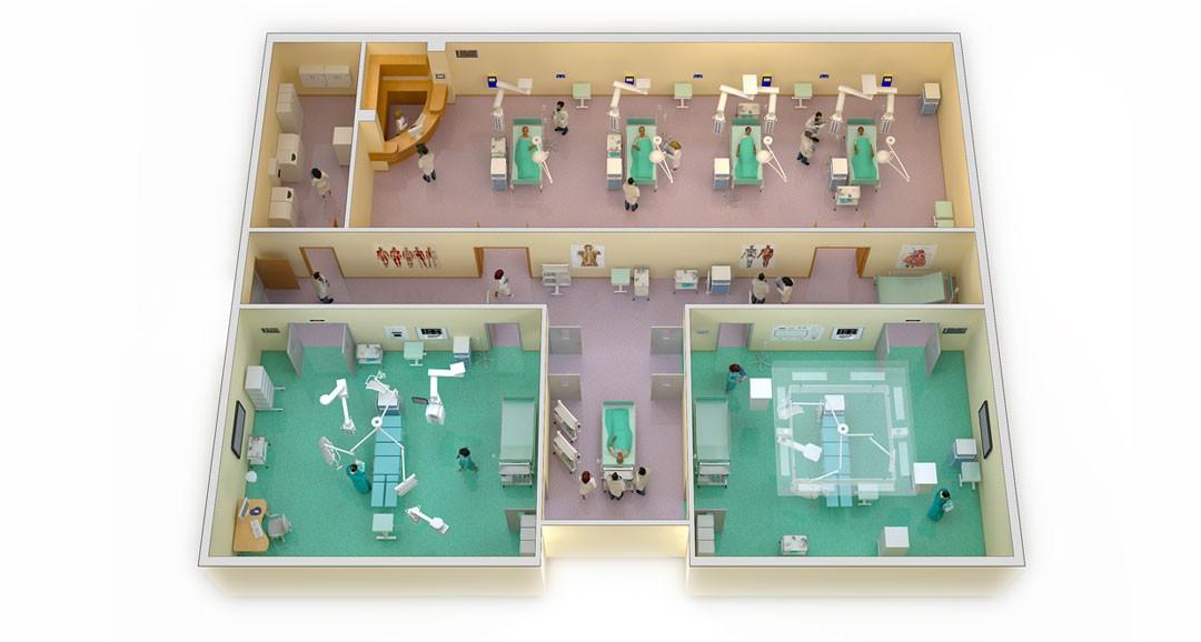 Hospital Plans 3d-plans image