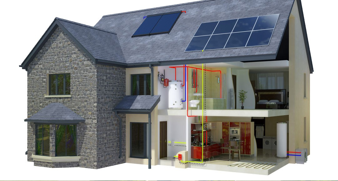 House Cross Section 3d-plans image