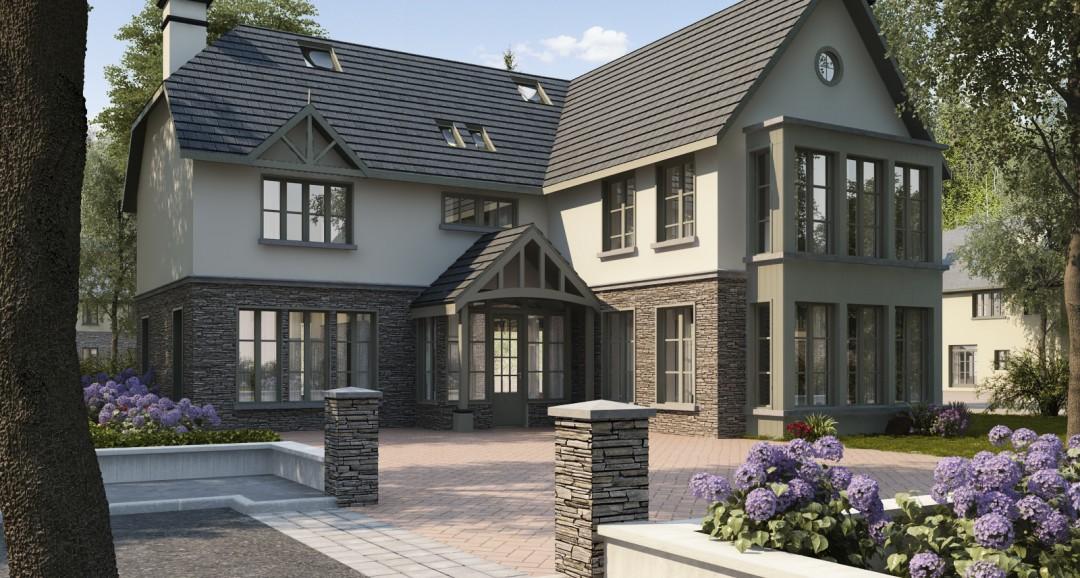 House Exterior 3 3d-visualisation image