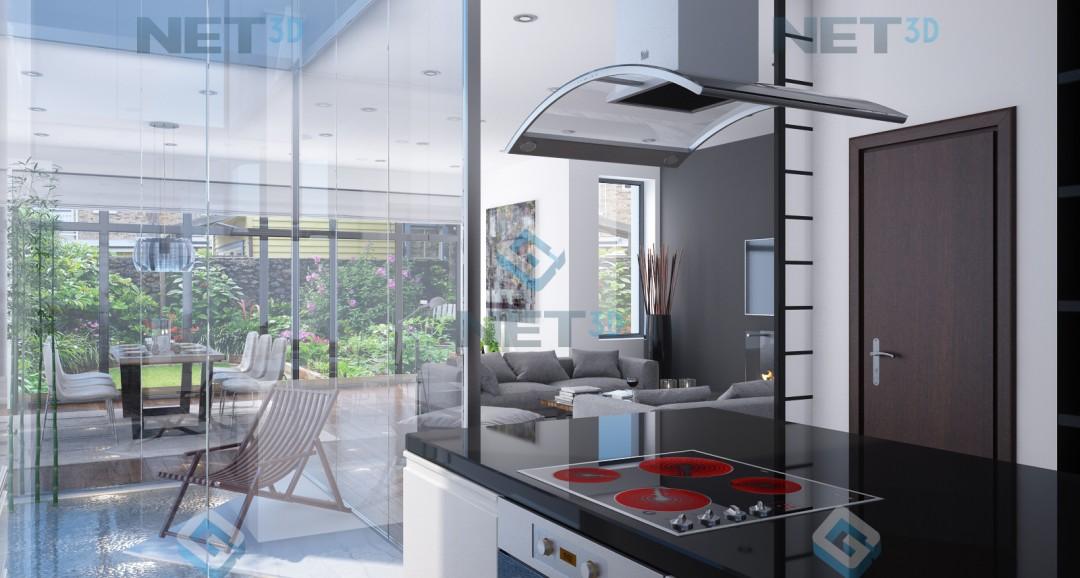 House Interior 3d-visualisation image