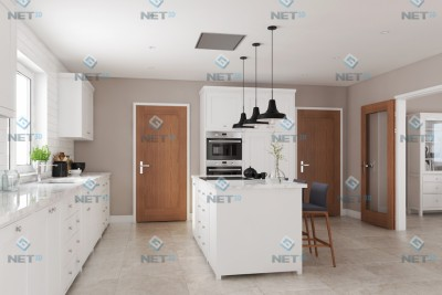 Kitchen Interior 3D-Visualisationin