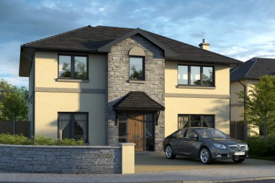 Mallow, Co Cork Residential 3D-Visualisationin