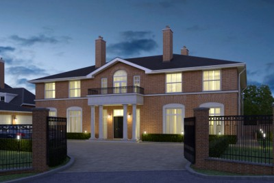Solihull, UK Residential 3D-Visualisationin