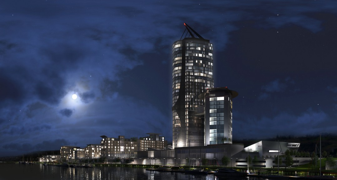 Waterhaven 3d-visualisation image