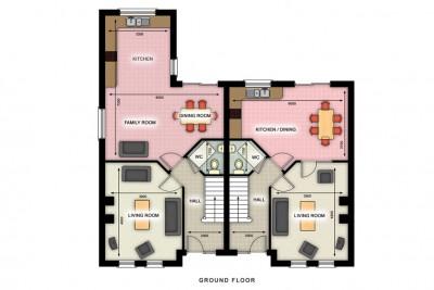 2D Floorplan 2D-Plans 3D-Plansin