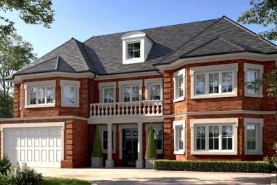 72 Fulmer Drive Residential 3D-Visualisationin