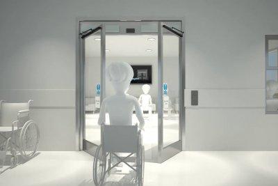Automatic Doors Product-Animation Product-Visualisationin