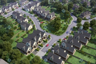 Blackrock, Cork Residential 3D-Visualisationin