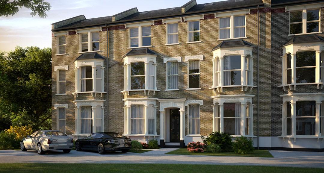 Brixton House 3d-visualisation image