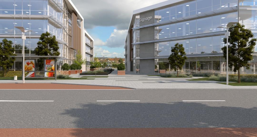 City Gate Plaza planning-visuals image