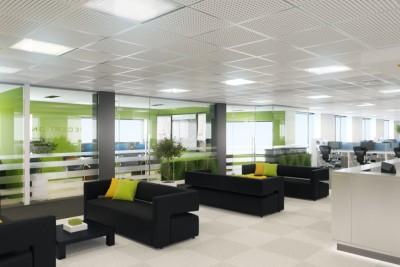 Crane Lane Offices Interior 3D-Visualisationin