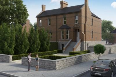 Dublin Home Residential 3D-Visualisationin