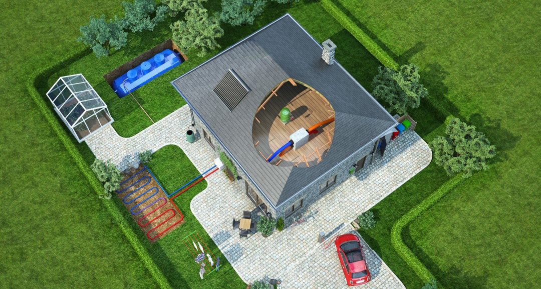 Eco House 3d-plans image