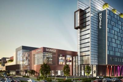 Headland Centre Commercial 3D-Visualisationin