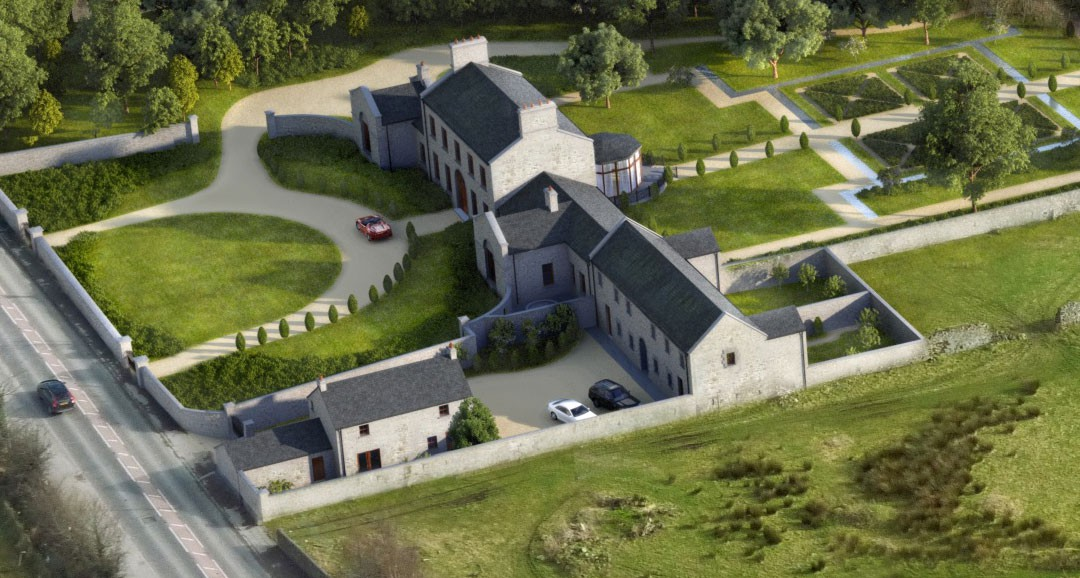 Hilltown 3d-visualisation image