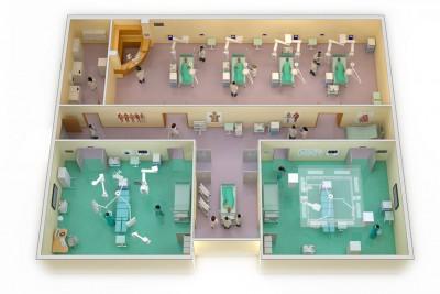 Hospital Plans 3D-Plans