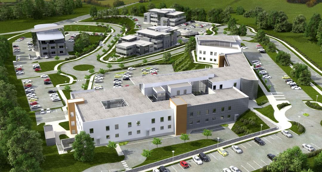 Mallow Business Park 3d-visualisation image