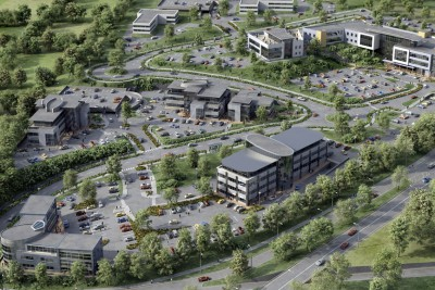 Mallow Business Park Commercial 3D-Visualisationin