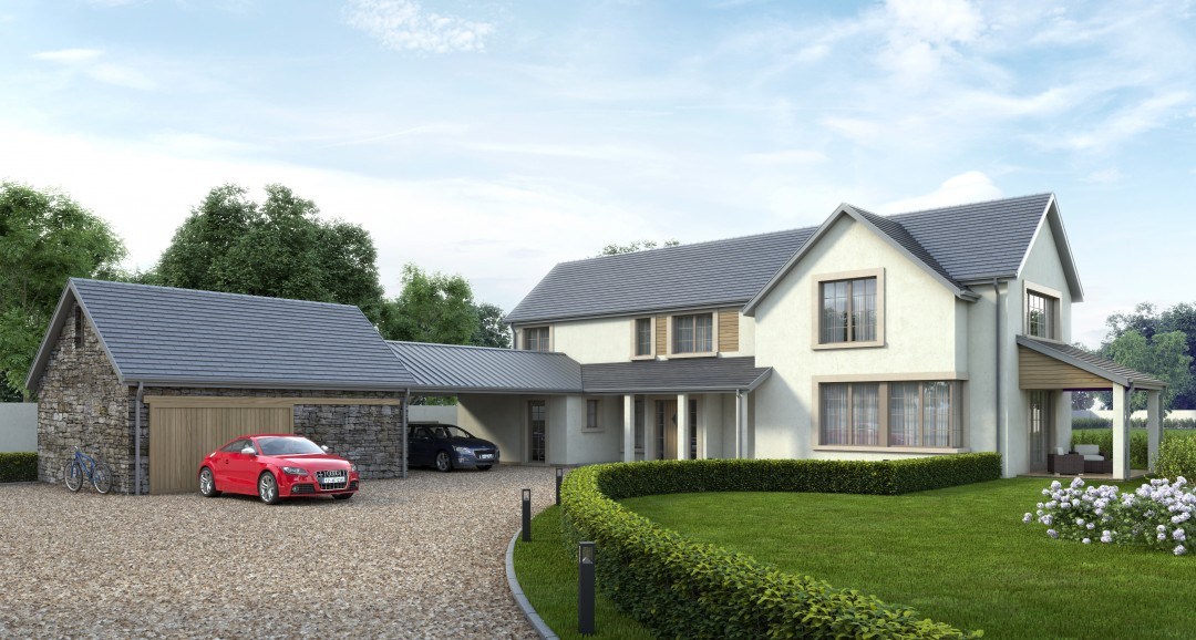 New House Design 3d-visualisation image