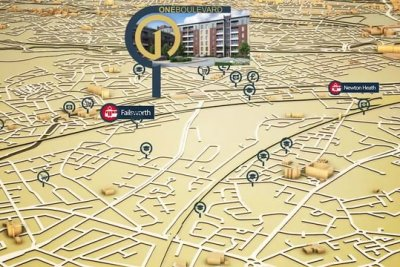 One Boulevard Commercial 3D-Animationin