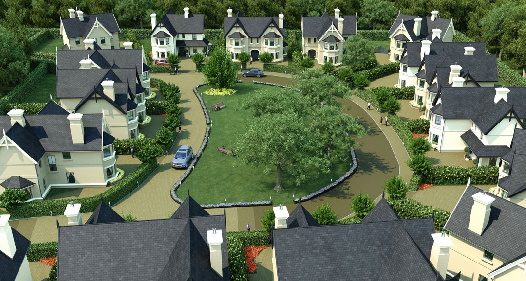 Residential Perspective 3d-plans image
