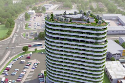 The Beacon Residential 3D-Animationin
