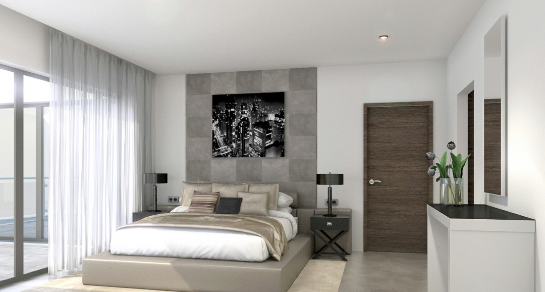 Villa Marbella 3d-visualisation image