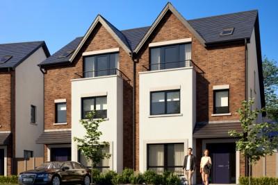 Westfield - B Residential 3D-Visualisationin